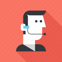 avatar, call, communication, contact, customer, service, support icon