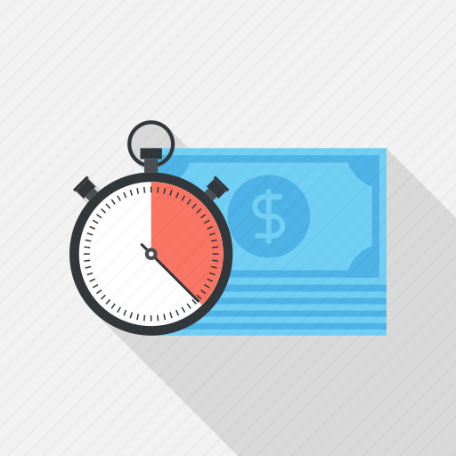 clock, management, money, schedule, stopwatch, time, watch icon