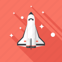 fly, launch, rocket, shuttle, spaceship, start, startup icon