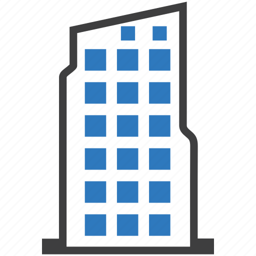 architecture, building, business, office icon