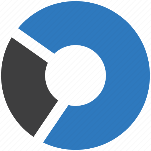 analytics, business, financial report, pie chart, report, statistics icon