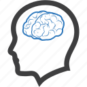 brain, brainstorming, neuroscience, neurosurgery icon