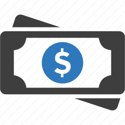 cash, dollar, earnings, finance, money, wallet icon