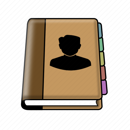 address, book, contact icon