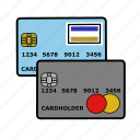 cards, credit, payment, transaction icon