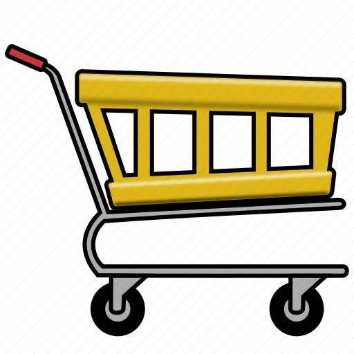 cart, checkout, shopping, trolley icon