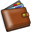 card, credit, money, payment, wallet icon