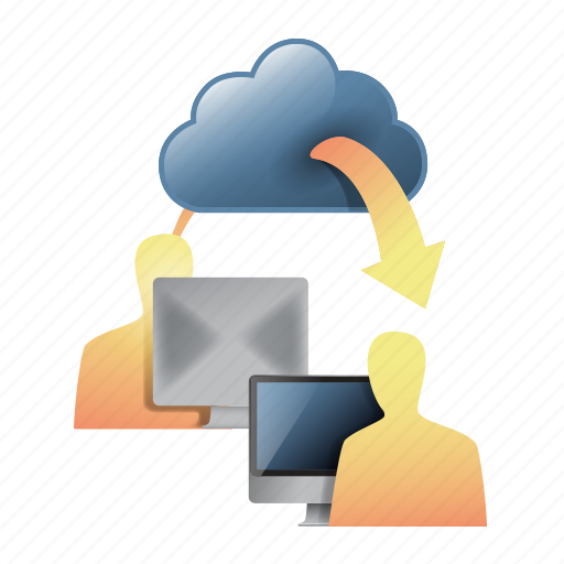 cloud, cloud computing, customer support, help, remote, remote support, support icon