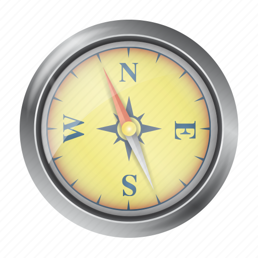 compass, direction, gps, location, marker, navigation, right icon