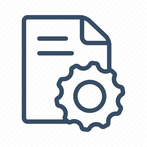 development, document, optimization, planning, project, project development, settings icon