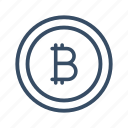 bitcoin, business, currency, cyber currency, finance, money, online money icon