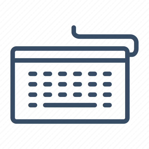 business, computer, input, keyboard icon