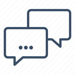 business, chat, communication, conference, dialogue, meeting, messaging icon