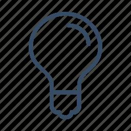 business, concept, idea, innovation, light bulb icon