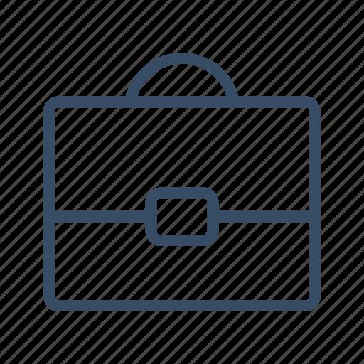 briefcase, business bag, case, documents, portfolio, project, suitcase icon