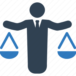 balance, business decision, justice, law icon