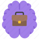 brain, business, intelligence, solutions icon