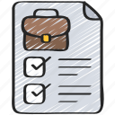 business, checklist, intelligence, solutions icon