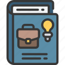 bi, book, business, intelligence, solutions icon