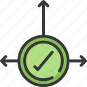 business, decision, improved, intelligence, making, solutions icon