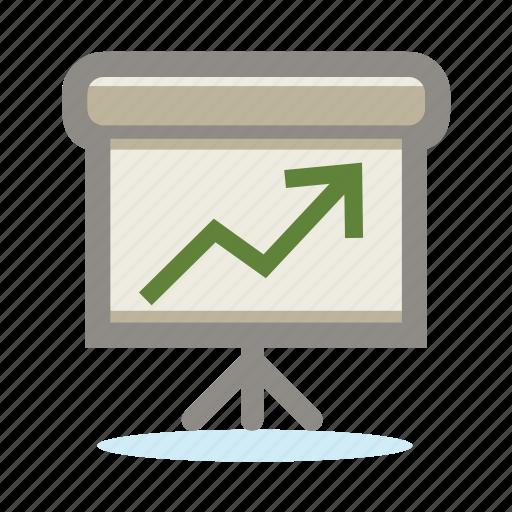 analytics, bubble, business, chart, chat, diagram, finance, graph, message, present, presentation, report, speak, speech, statistics, talk icon