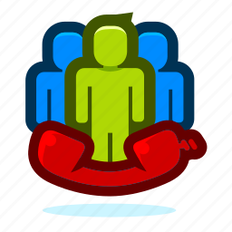 business, conference, group, office, people, person icon