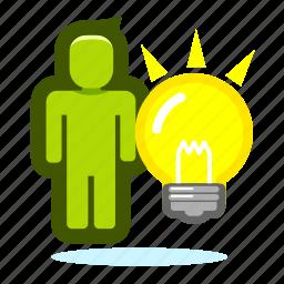 creative, creativity, design, idea, inspiration, think icon