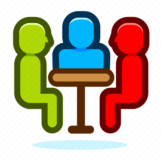 business, chat, communication, meeting, message, talk icon