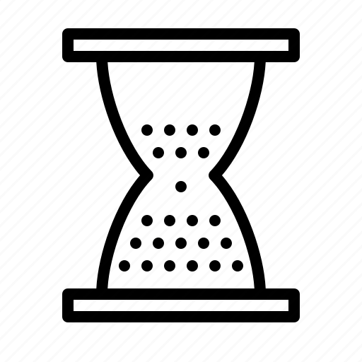 agency, business, hourglass, seo, services, time icon