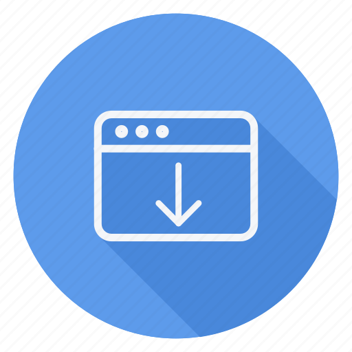 browser, business, communication, download, lifestyle, marketing, networking icon