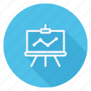 business, chart, communication, graph, lifestyle, marketing, presentation icon