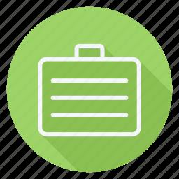 brifecase, business, communication, lifestyle, marketing, networking, suitecase icon