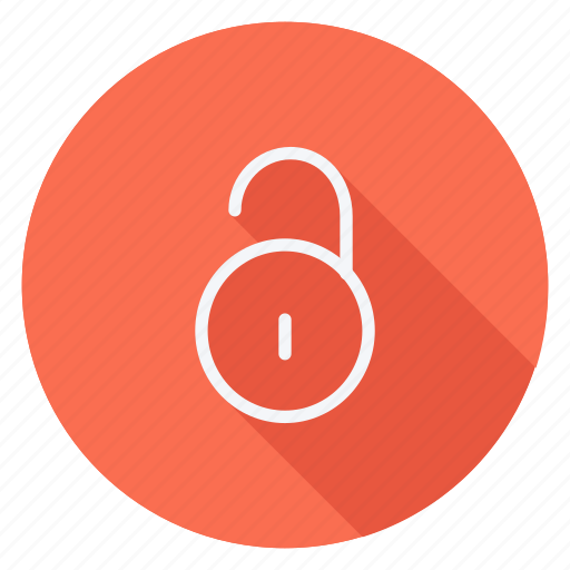 business, communication, lifestyle, marketing, networking, shield, unlock icon