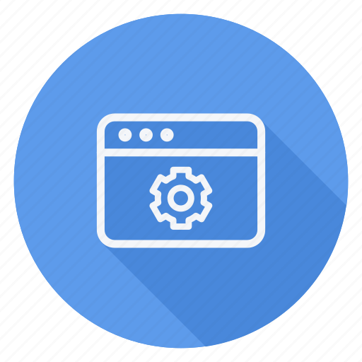 browser, business, communication, lifestyle, marketing, networking, setting icon