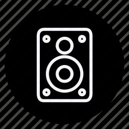 business, communication, marketing, networking, office, soundbox, speaker icon