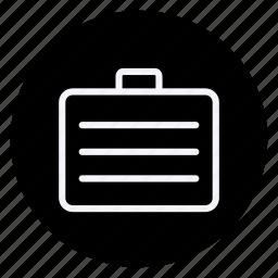 brifecase, business, communication, marketing, networking, office, suitecase icon