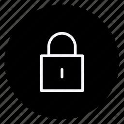 business, communication, lock, marketing, office, safety, shield icon