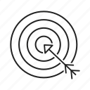 aim, dartboard, darts, focus, goals, target icon