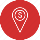 business, location, map, marketing icon
