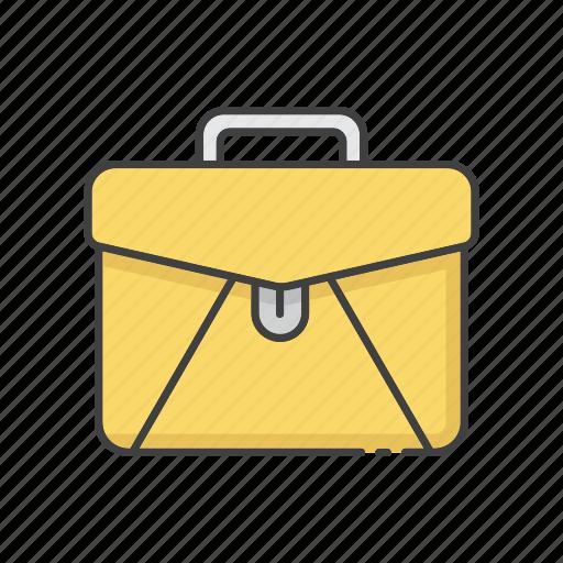 brief, briefcase, business, businessman, office, portfolio, work icon