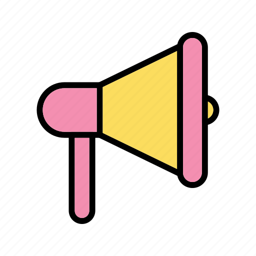Megaphone, announcement, loudspeaker icon - Download on Iconfinder