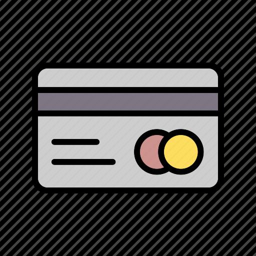 card, credit, debit icon