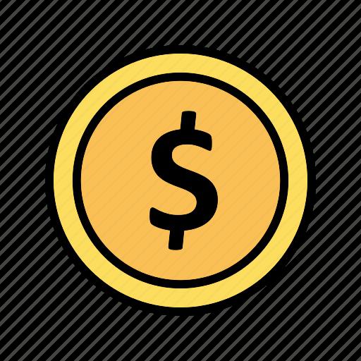 cent, coin, dollar icon