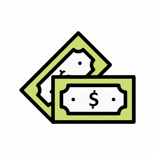 currency, note, notes icon