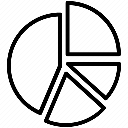 analysis, analyze, chart, diagram, graph, pie, pie chart icon icon