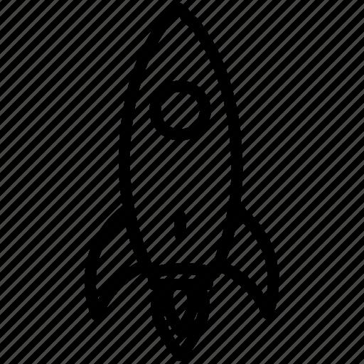 rocket, spaceship, startup icon icon