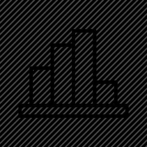 analytics, bar, business, chart, graph icon
