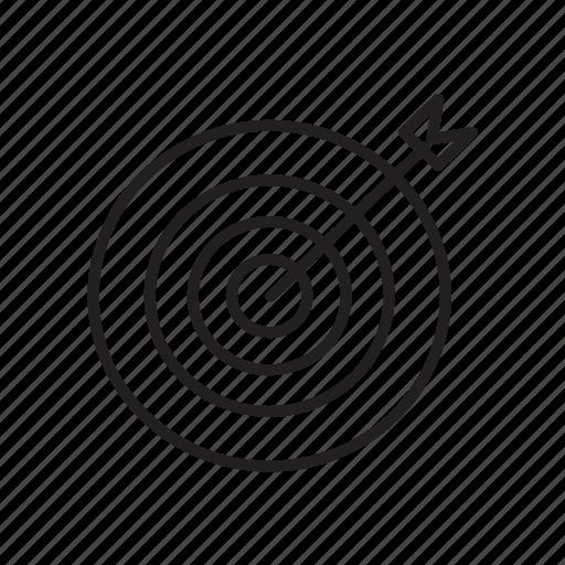 aim, board, dart, focus, goal, target icon