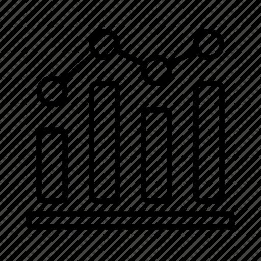 analytics, business, chart, finance, graph, statistics icon