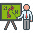 board, business, presentation, strategist, strategy, training